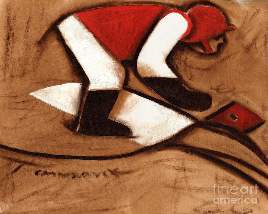 Tommervik Horse Race Painting
