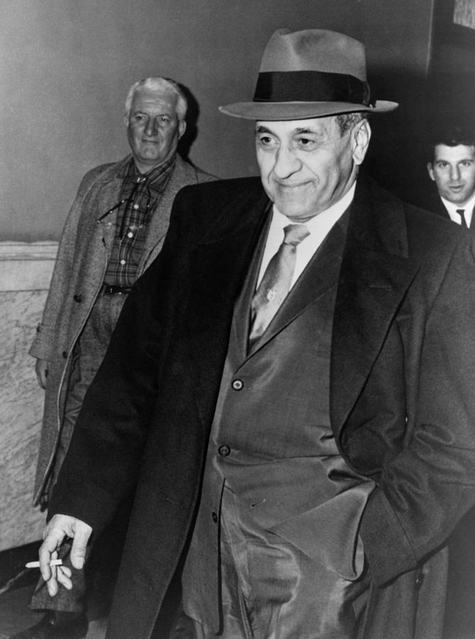 Tony Accardo, Successor Of Al Capone Photograph  - Tony Accardo, Successor Of Al Capone Fine Art Print