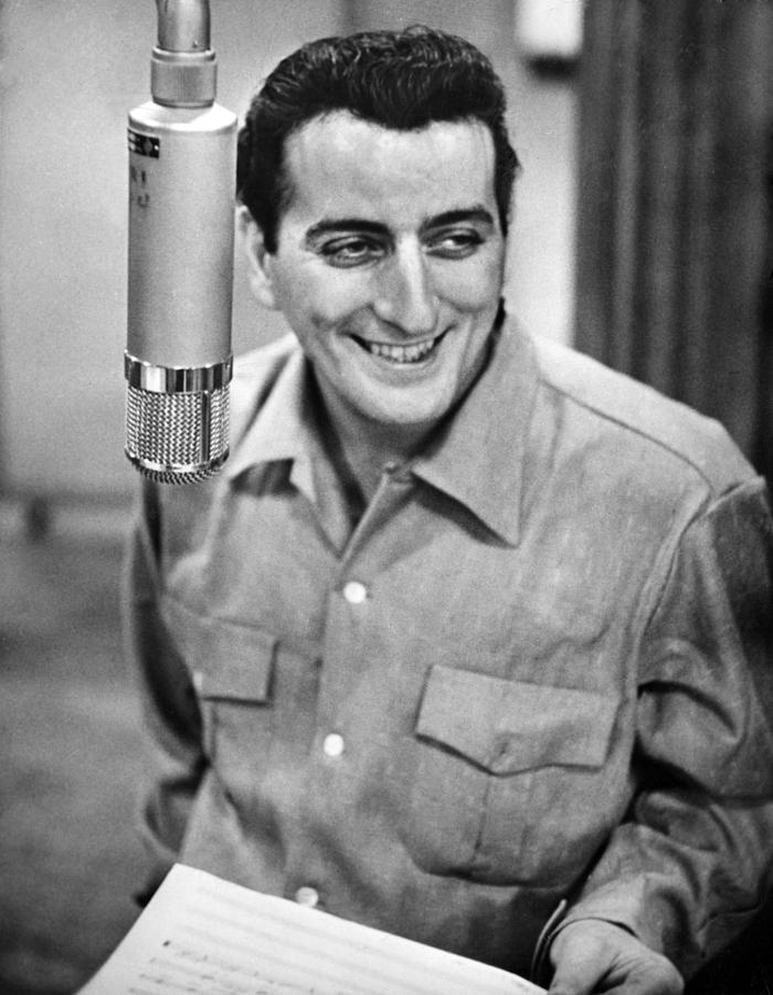 Tony Bennett, C. 1954 Photograph