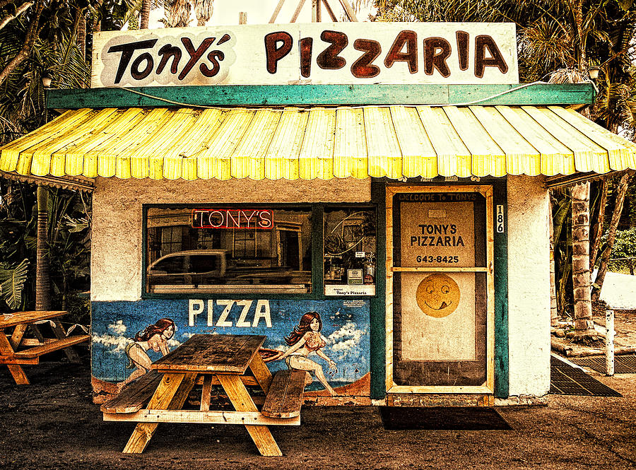 Tonys Pizzaria Photograph  - Tonys Pizzaria Fine Art Print