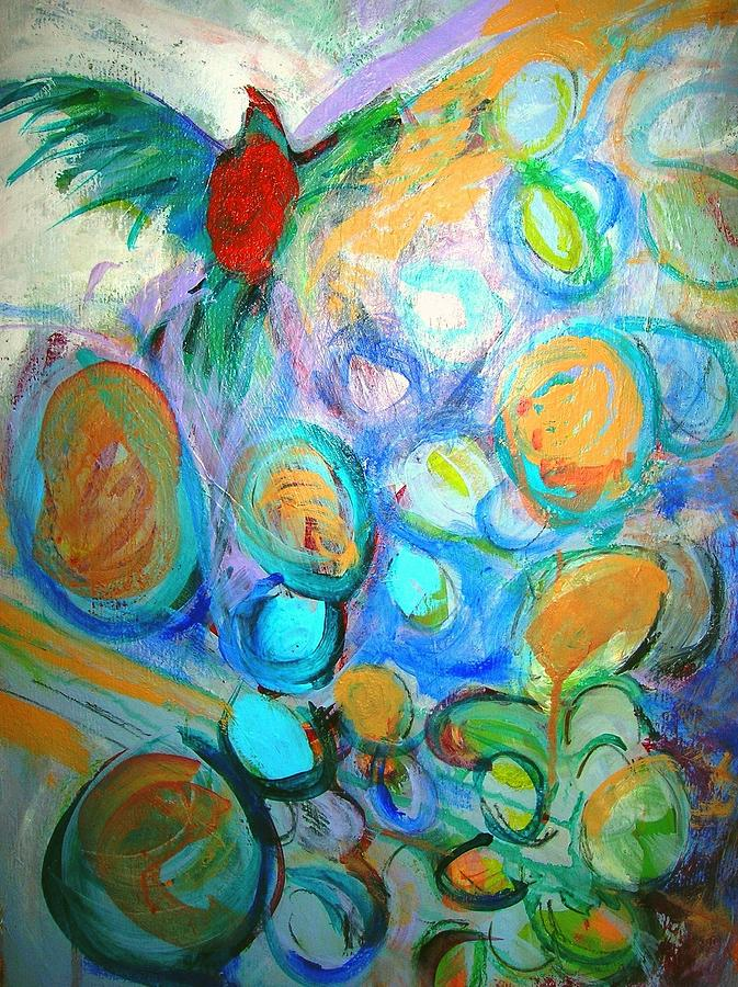 Too Many Eggs Painting  - Too Many Eggs Fine Art Print