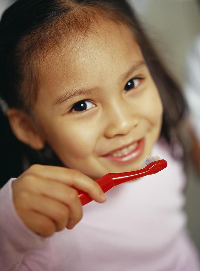 Toothbrushing Photograph