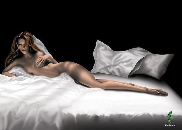 Top Model Digital Art