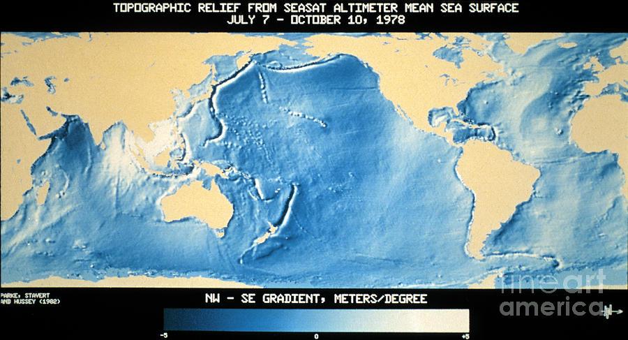 topographic map of earth nasa - photo #18
