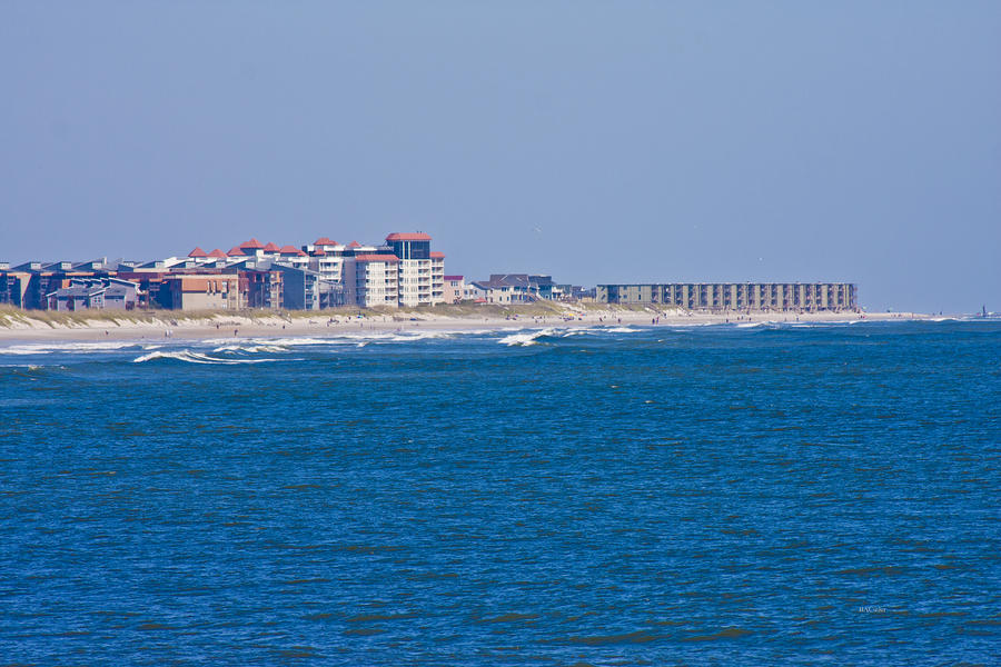 Topsail island sea view photograph for Seaview fishing pier