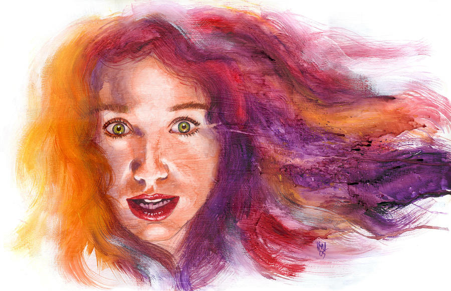 Tori Rainbow Painting