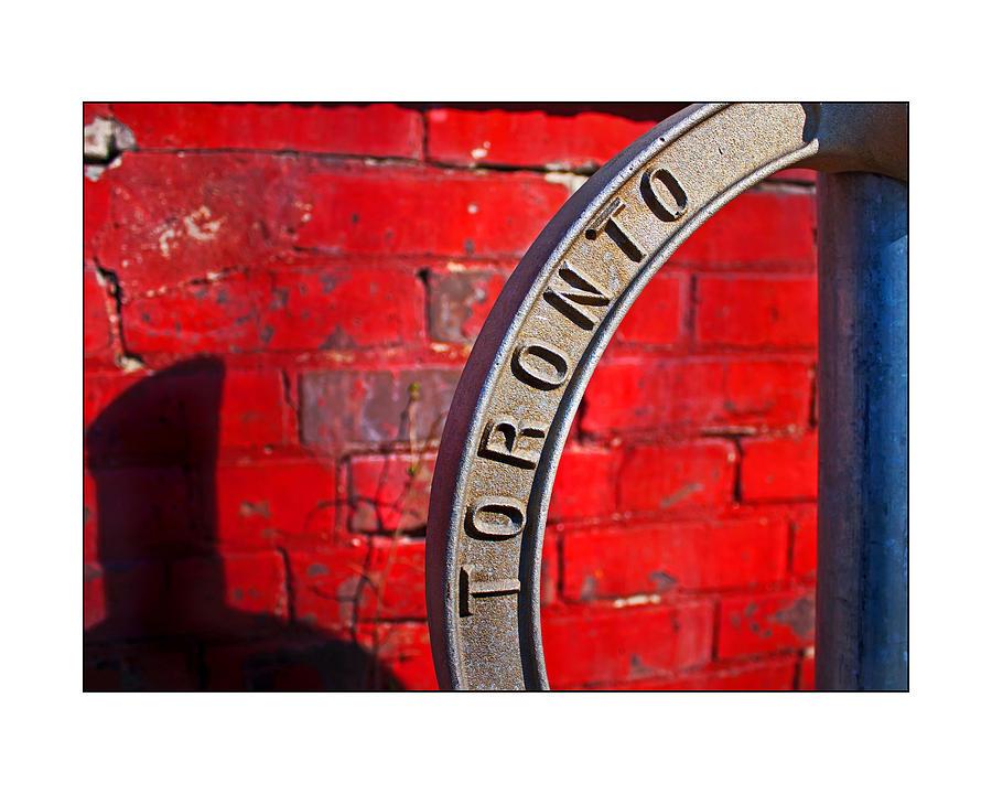 Toronto Bicycle Ring Photograph