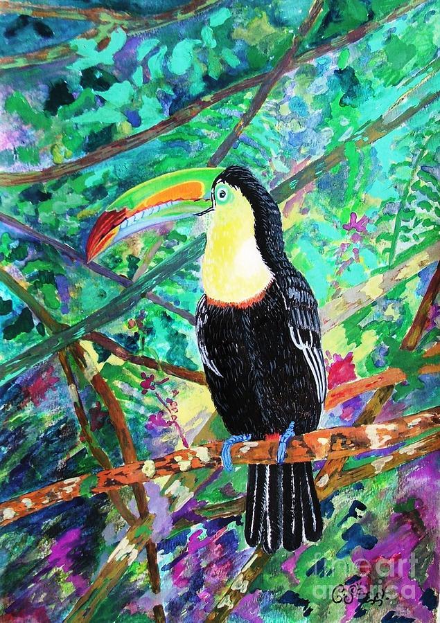 Toucan painting by caroline street - Painting tool avis ...
