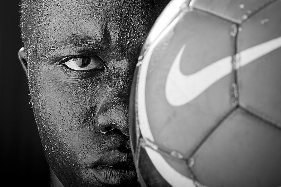 Tough Like A Nike Ball Photograph  - Tough Like A Nike Ball Fine Art Print