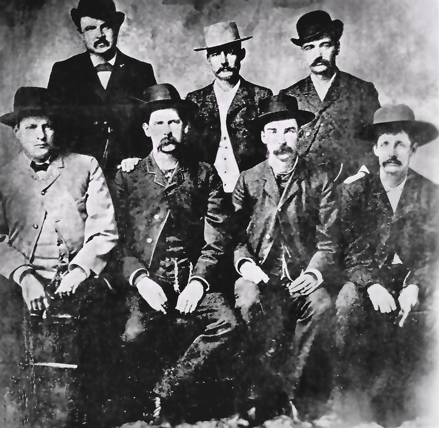 Tough Men Of The Old West Photograph  - Tough Men Of The Old West Fine Art Print