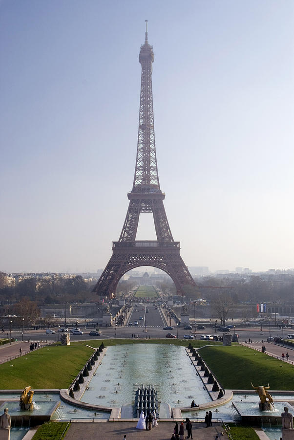 French Photograph - Tour Eiffel by Rod Jones