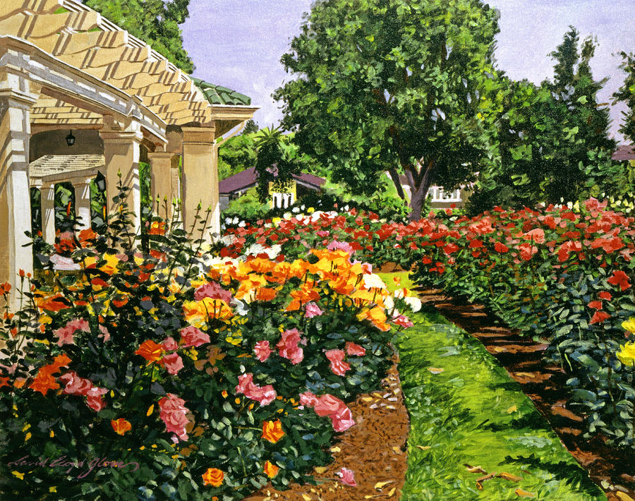 Tournament Of Roses II Painting  - Tournament Of Roses II Fine Art Print
