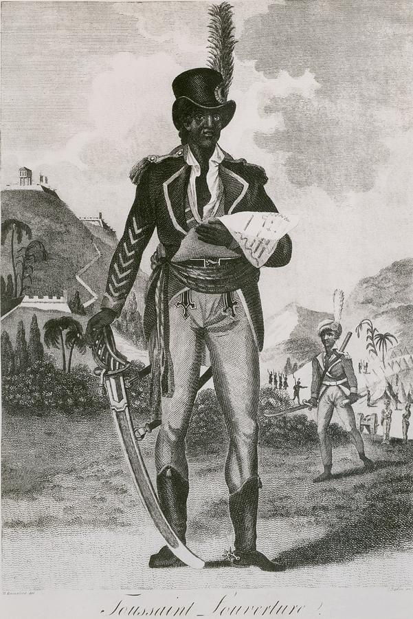 Toussaint Louverture 1843-1803 Leader Photograph  - Toussaint Louverture 1843-1803 Leader Fine Art Print