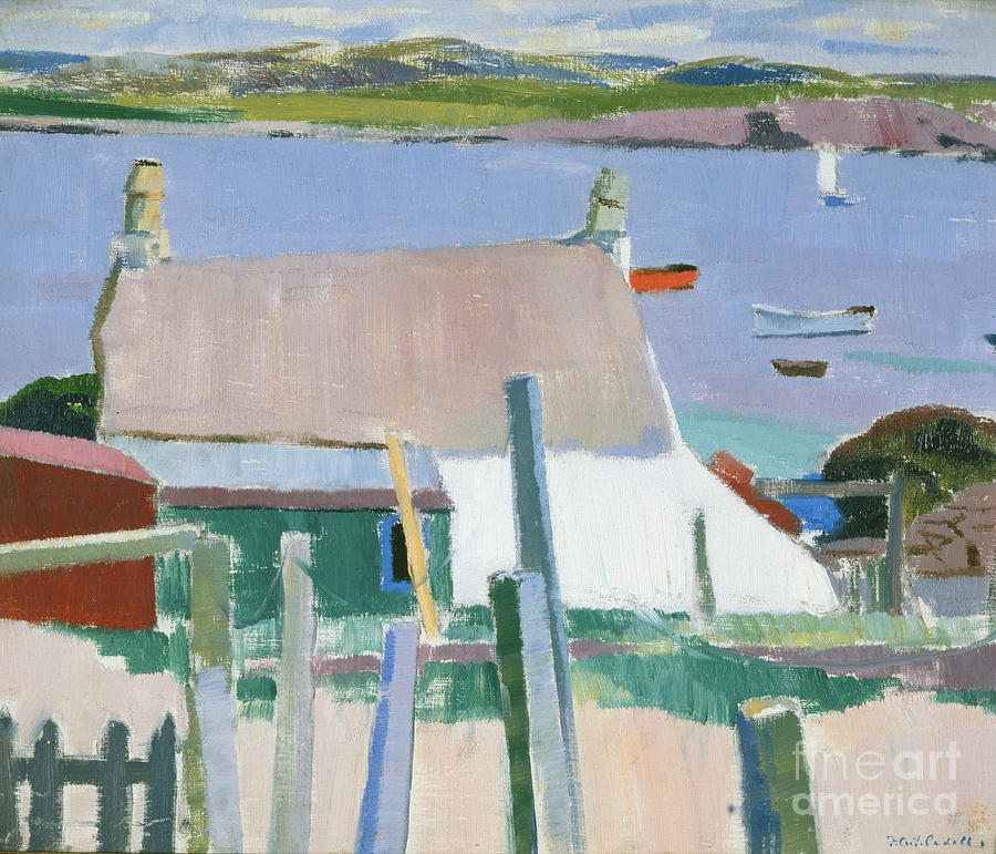 Iona Painting - Towards Mull by Francis Campbell Boileau Cadell