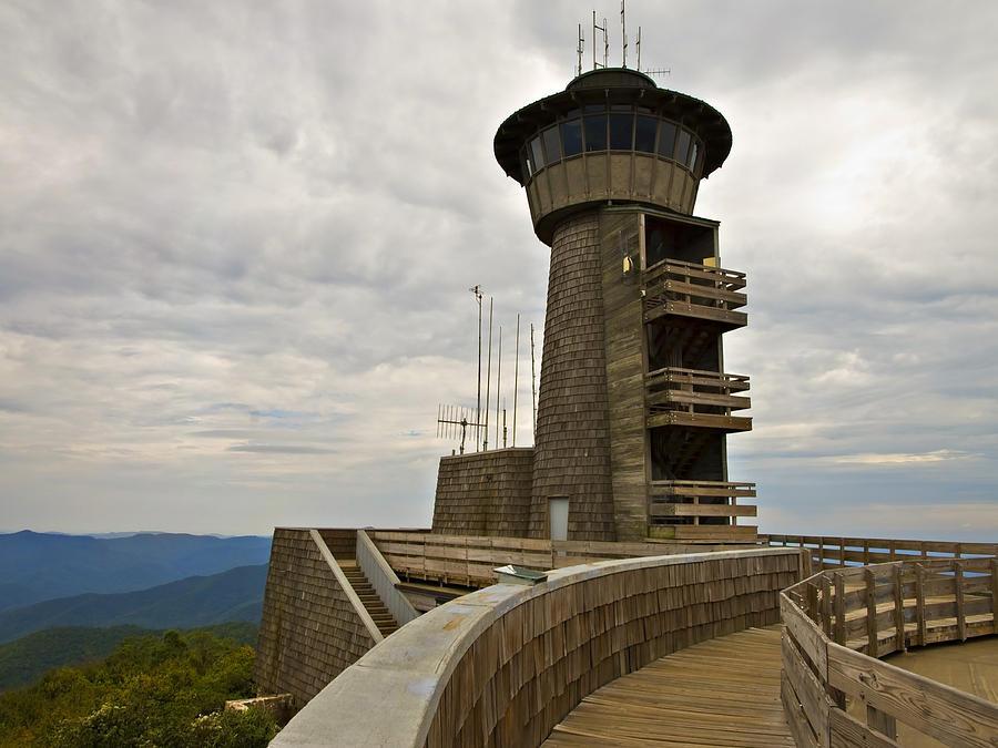 Tower At Brasstown Bald Photograph By Susan Leggett