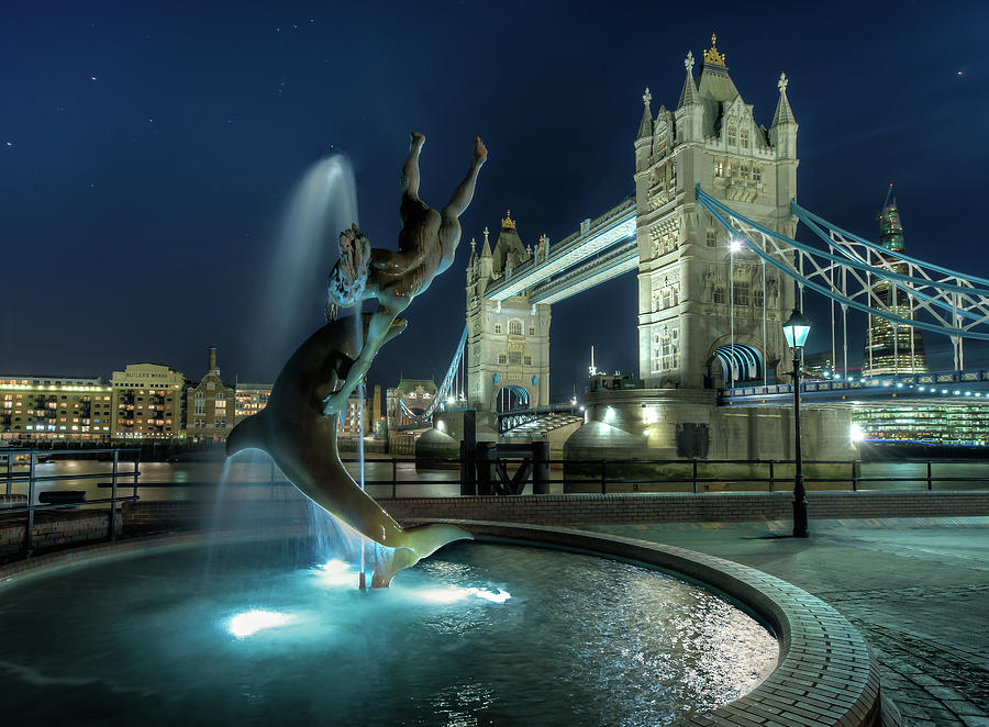 Tower Bridge In London Photograph