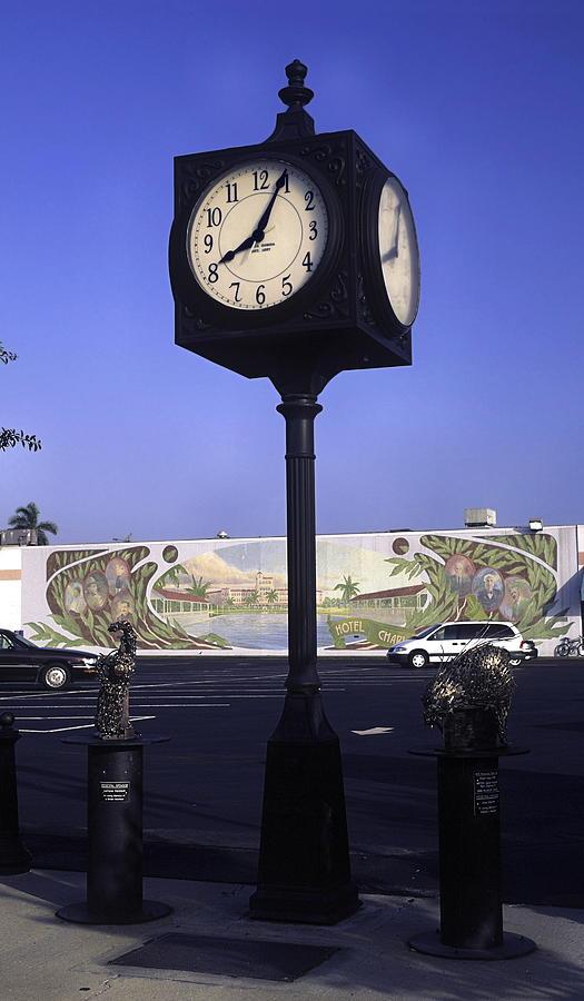 Town Clock Photograph