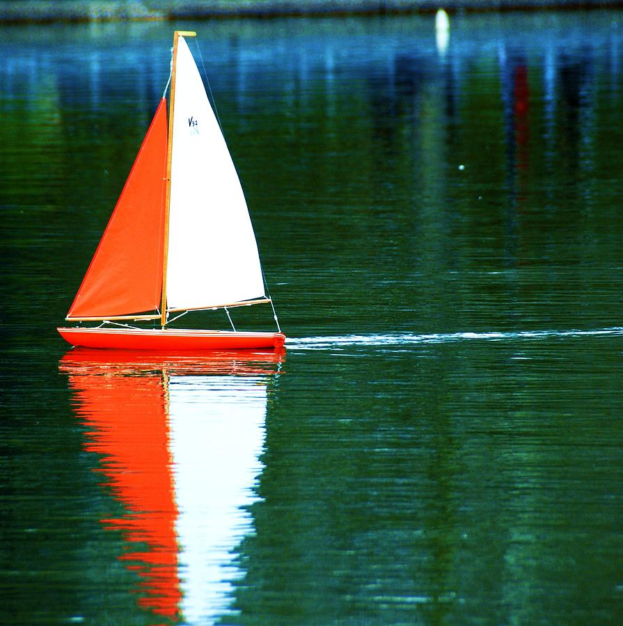 Toy Boat Photograph