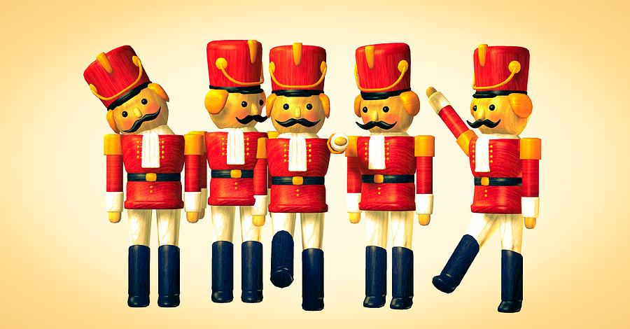 Toy Soldiers Nutcracker Photograph