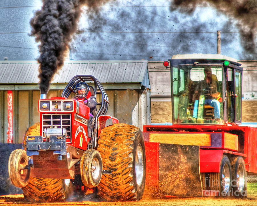 Tractor Pull Artwork : Tractor pull by kevin pugh