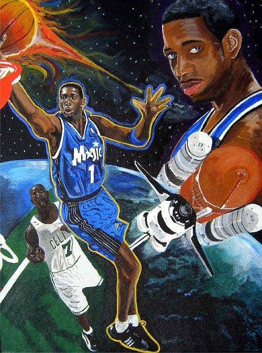 Tracy Mcgrady Painting