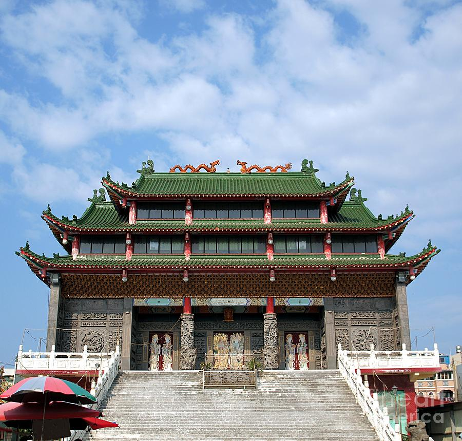 Temple Texas Traditional Home: Traditional Chinese Folk Religion Temple Photograph By