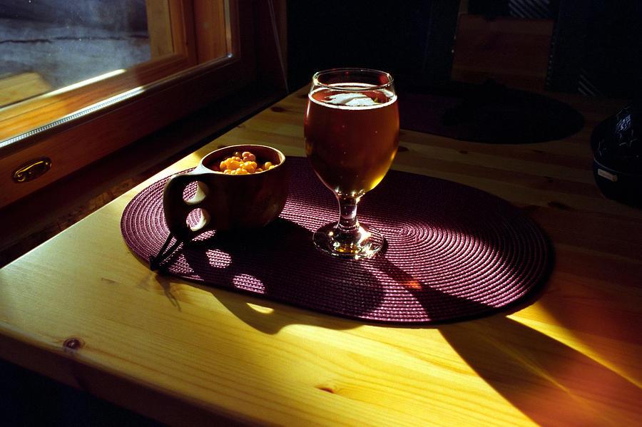 Traditional finnish cup  kuksa ioan todor