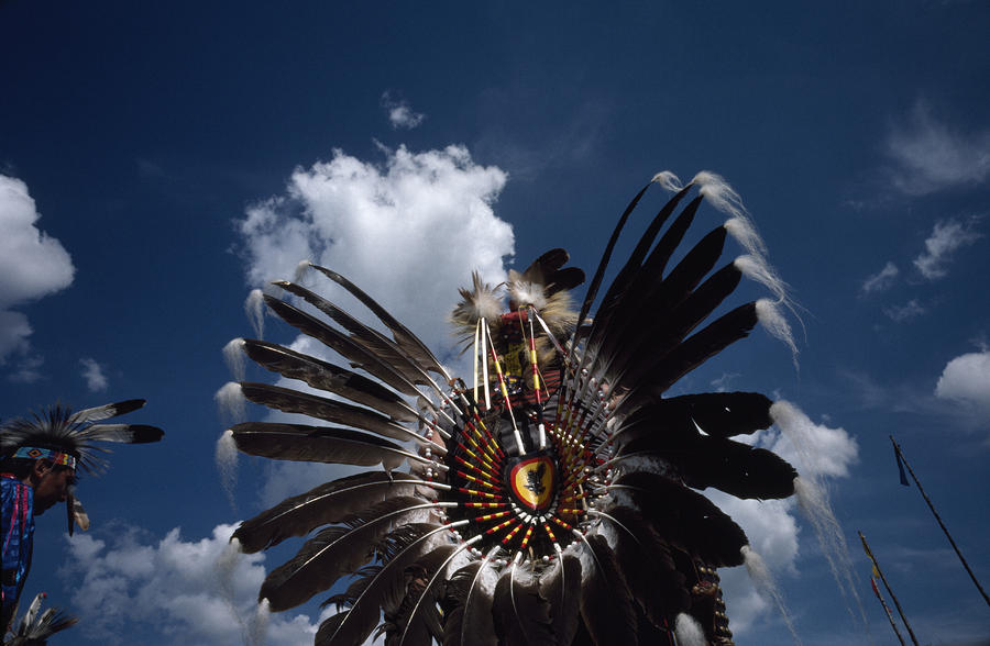 Traditional Native American Dancers Photograph