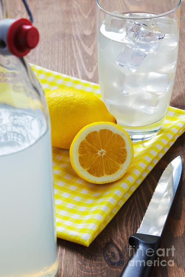 Traditional Still Lemonade Photograph  - Traditional Still Lemonade Fine Art Print