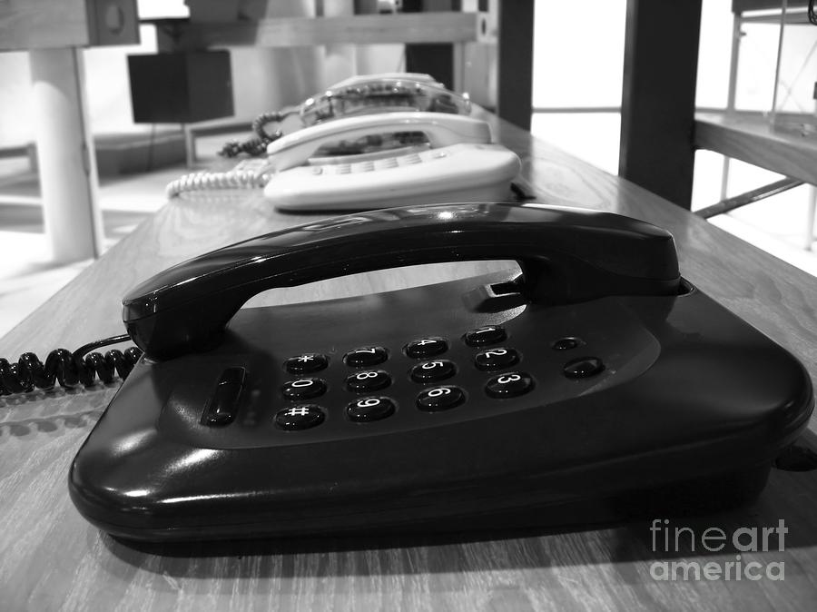 Traditional Telephones Photograph