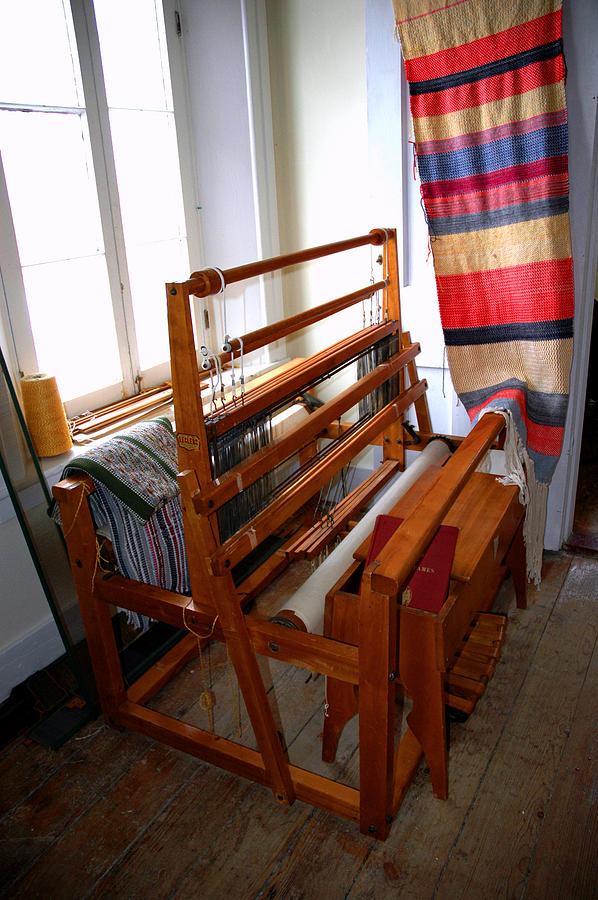 Traditional Weavers Loom Photograph  - Traditional Weavers Loom Fine Art Print