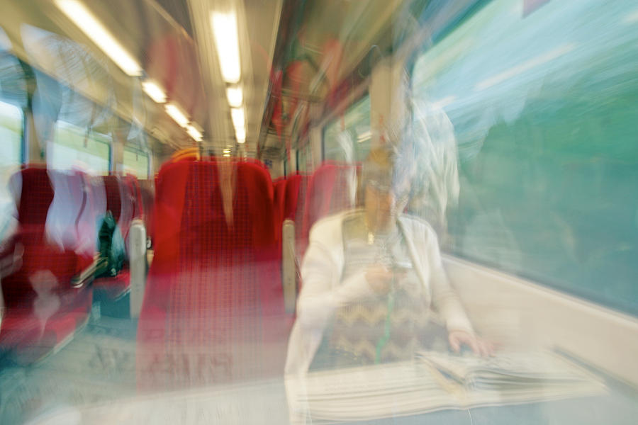 Train Travel Photograph  - Train Travel Fine Art Print