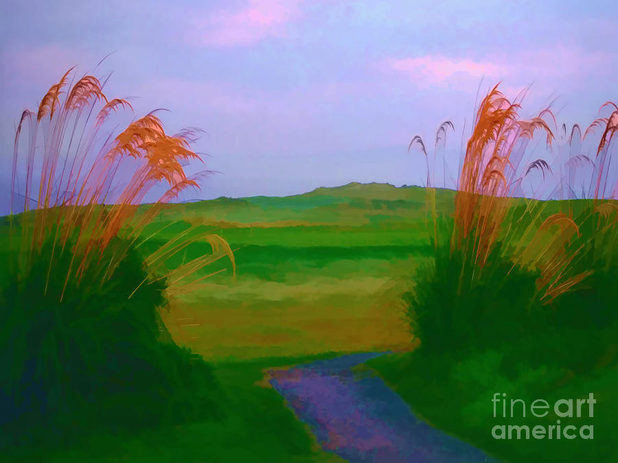 Tralee Ireland Water Color Effect Photograph