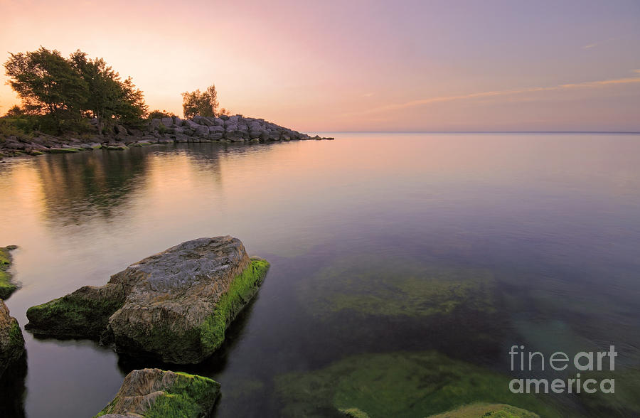 Tranquil Morning Photograph by Charline Xia