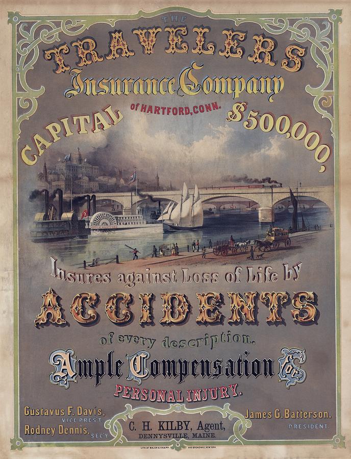 Travelers Insurance Company Advertising Photograph