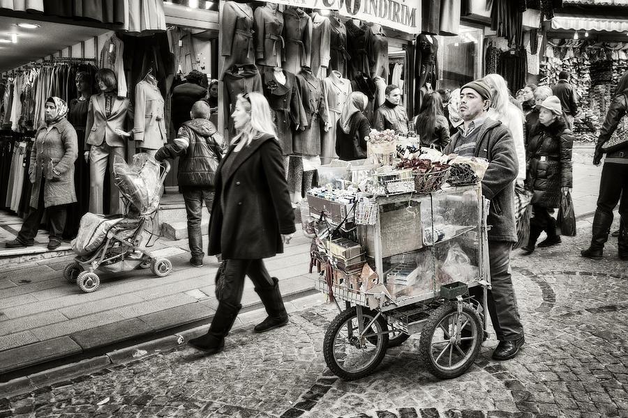 Traveling Vendor Photograph