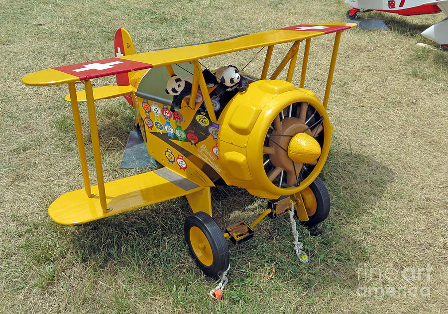 Travelling Pandas. Ready To Take Off. Oshkosh 2012 Photograph  - Travelling Pandas. Ready To Take Off. Oshkosh 2012 Fine Art Print