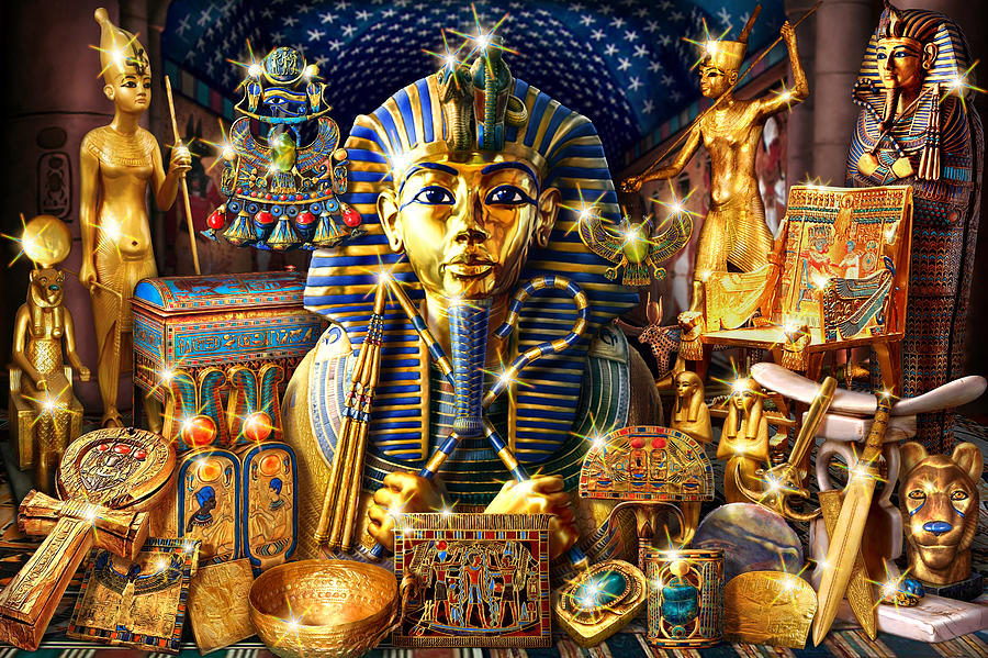 Treasures Of Egypt Photograph  - Treasures Of Egypt Fine Art Print