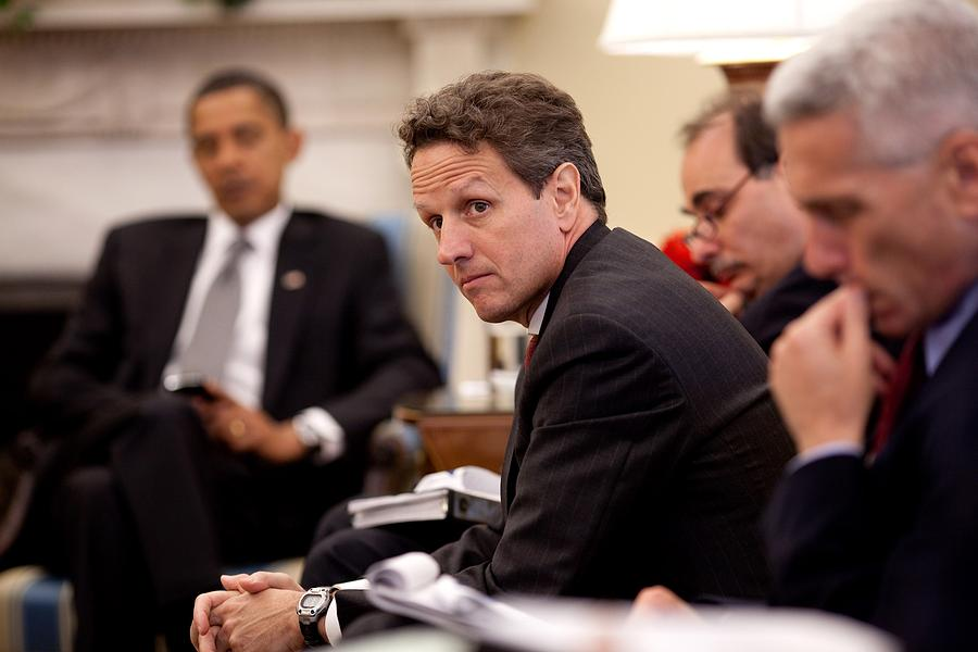 Treasury Secretary Timothy Geithner Photograph  - Treasury Secretary Timothy Geithner Fine Art Print