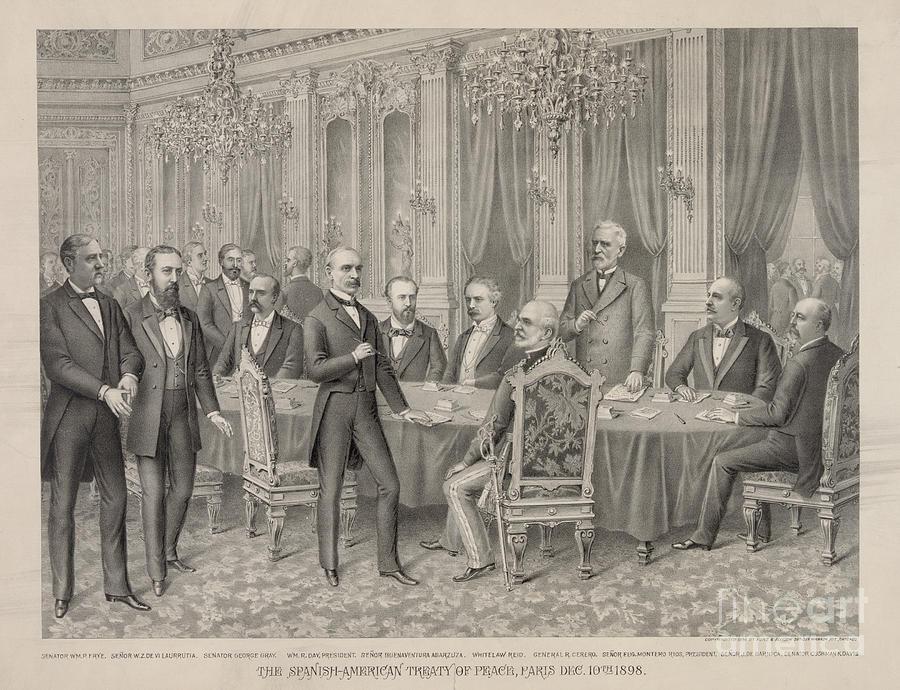 treaty of paris 1898 essay
