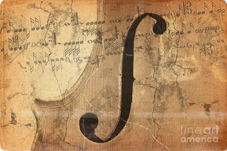 Treble Clef Digital Art  - Treble Clef Fine Art Print