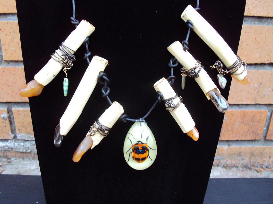 Tree Branch Necklace Jewelry