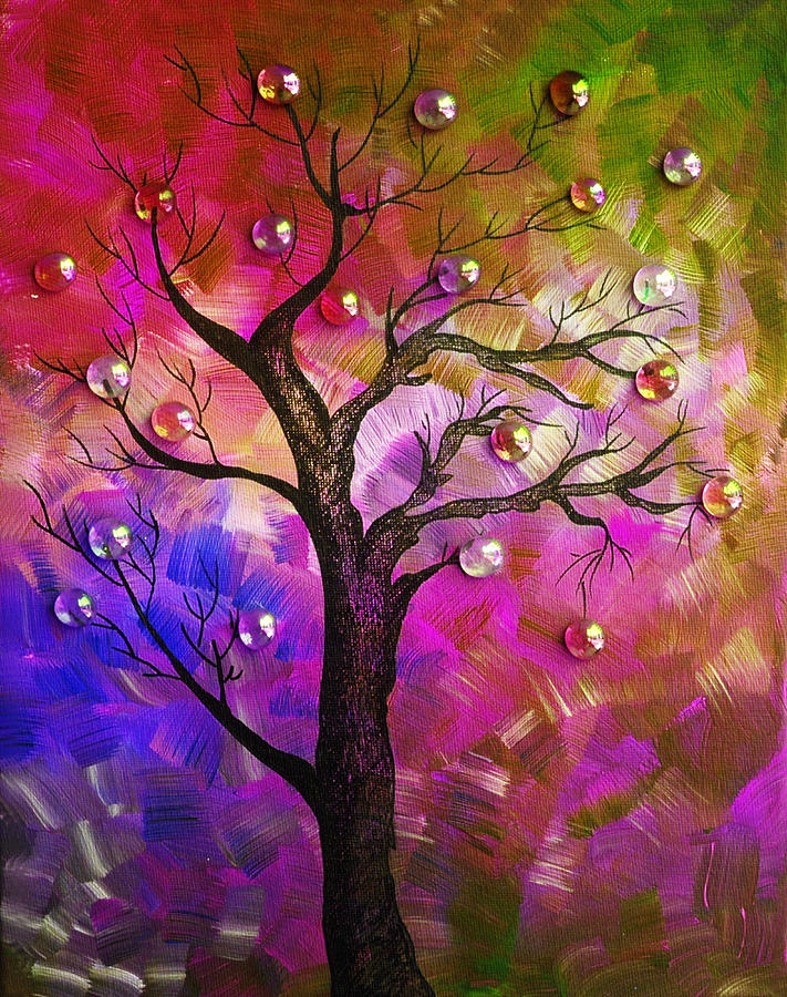Tree Fantasy2 Painting