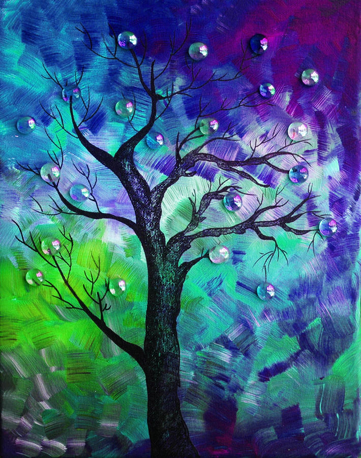 Tree Fantasy3 Painting  - Tree Fantasy3 Fine Art Print