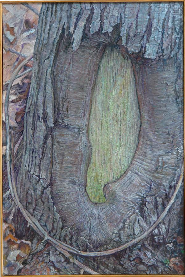 Tree Monument Painting