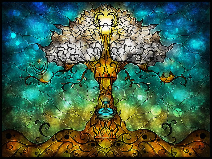 Tree Of Life Digital Art  - Tree Of Life Fine Art Print