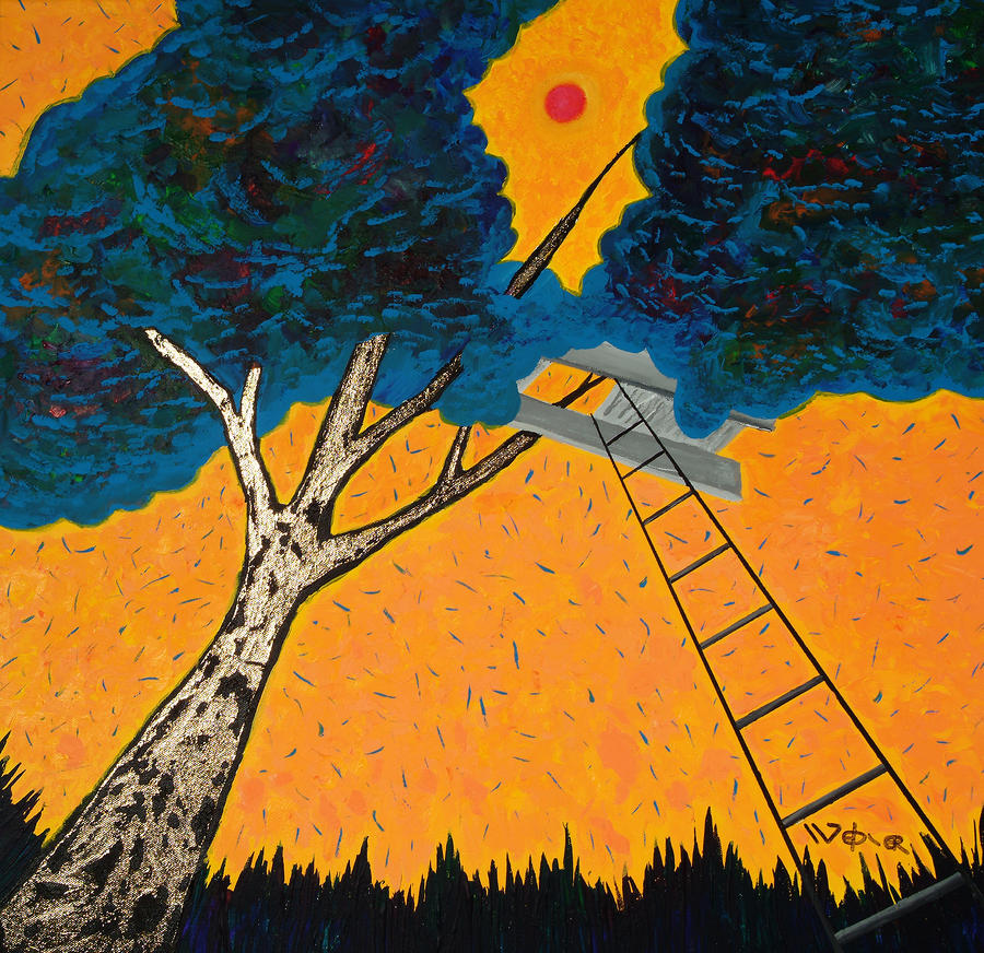 Treehouse Painting  - Treehouse Fine Art Print
