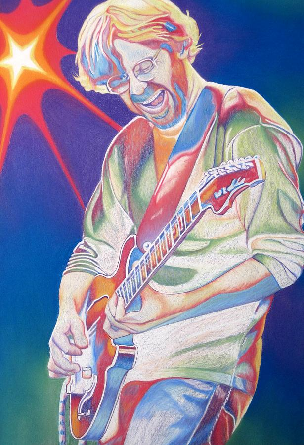 Trey Anastasio Drawing  - Trey Anastasio Fine Art Print