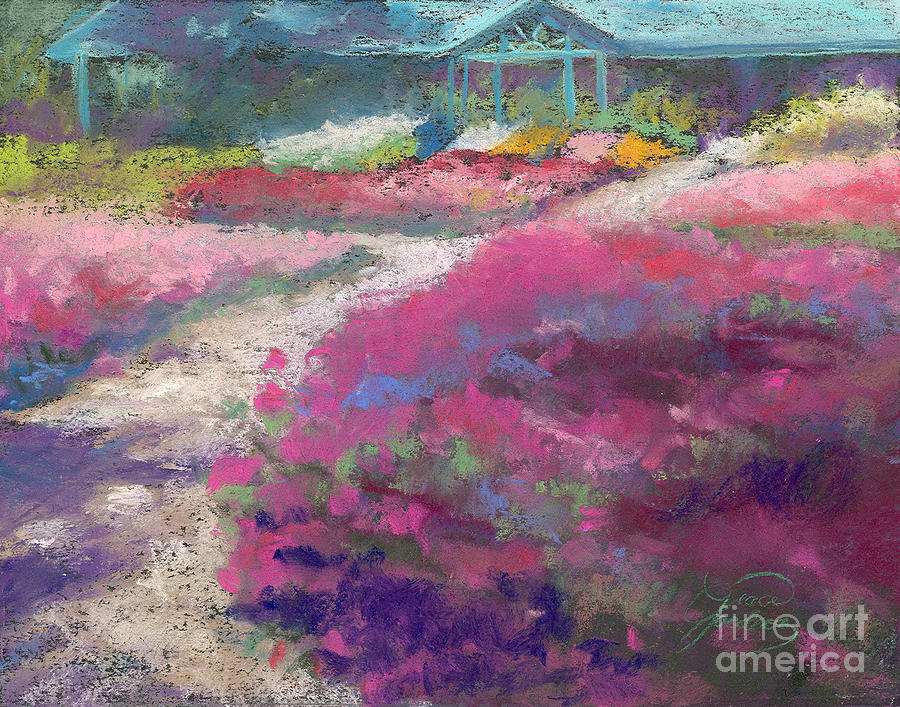 Trial Gardens In Fort Collins Painting  - Trial Gardens In Fort Collins Fine Art Print