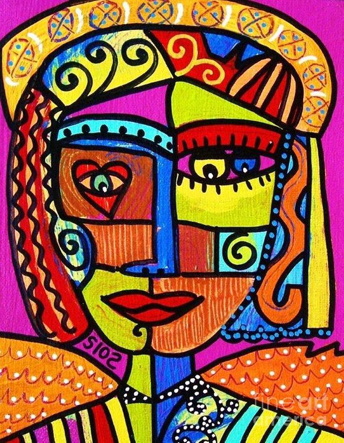 African Tribal Art Paintings | Joy Studio Design Gallery ...